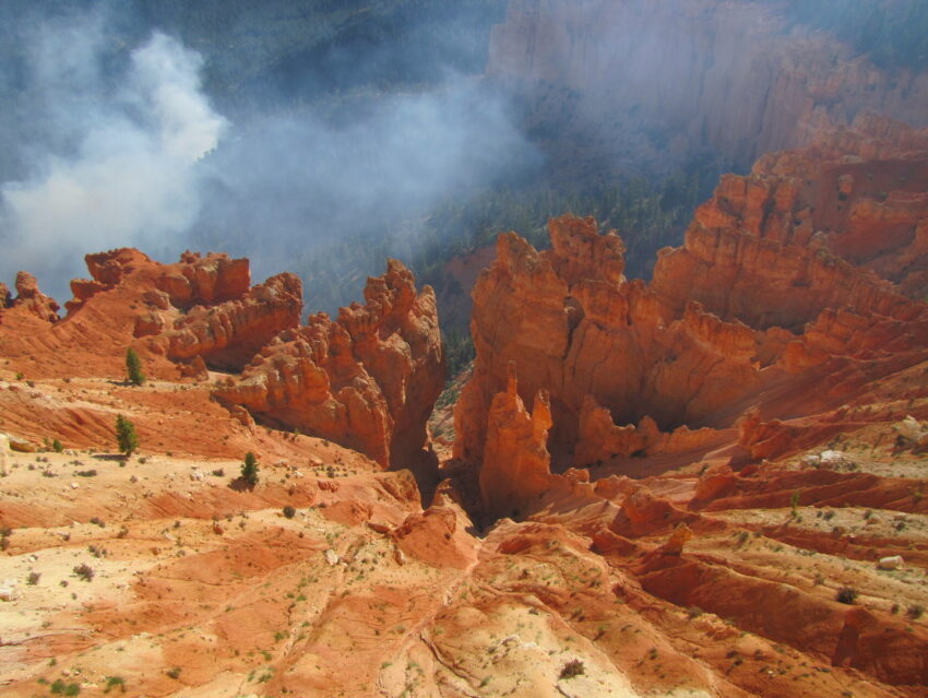 Bryce Canyon Fire