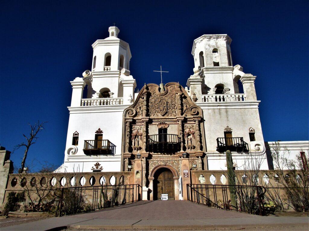 Majestic Mission San Xavier